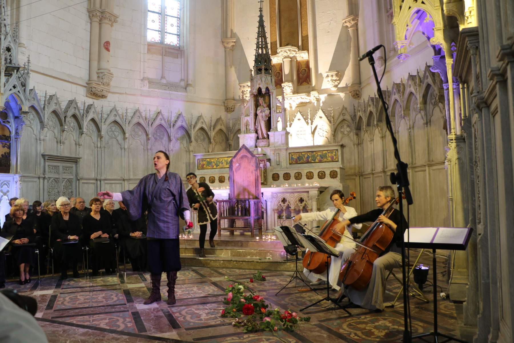 """Atelier """"Haut les chœurs !"""" : écoute et chant a capella"""